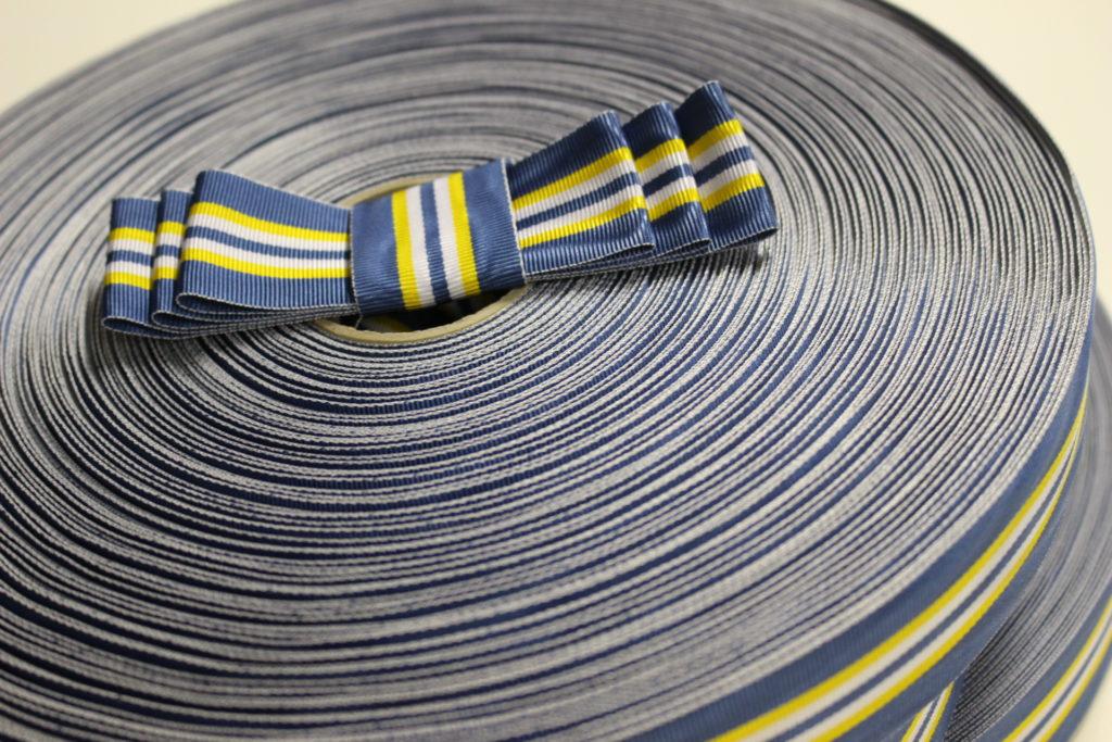 The student union's sash