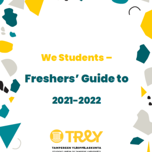 Fresher's Guide 2021-2022, cover photo