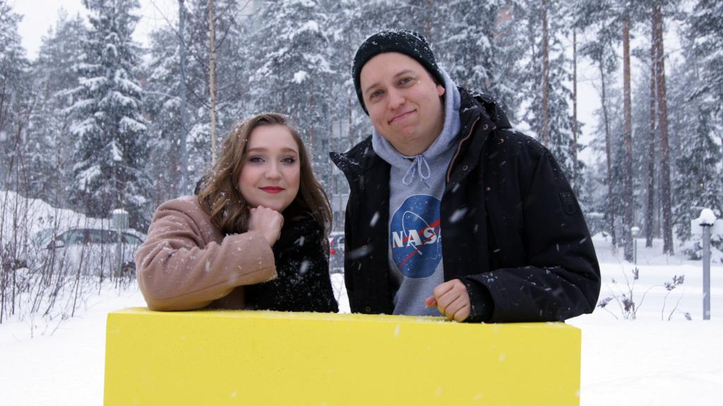 TREYn häirintäyhdyshenkilöt Laura ja Mikko