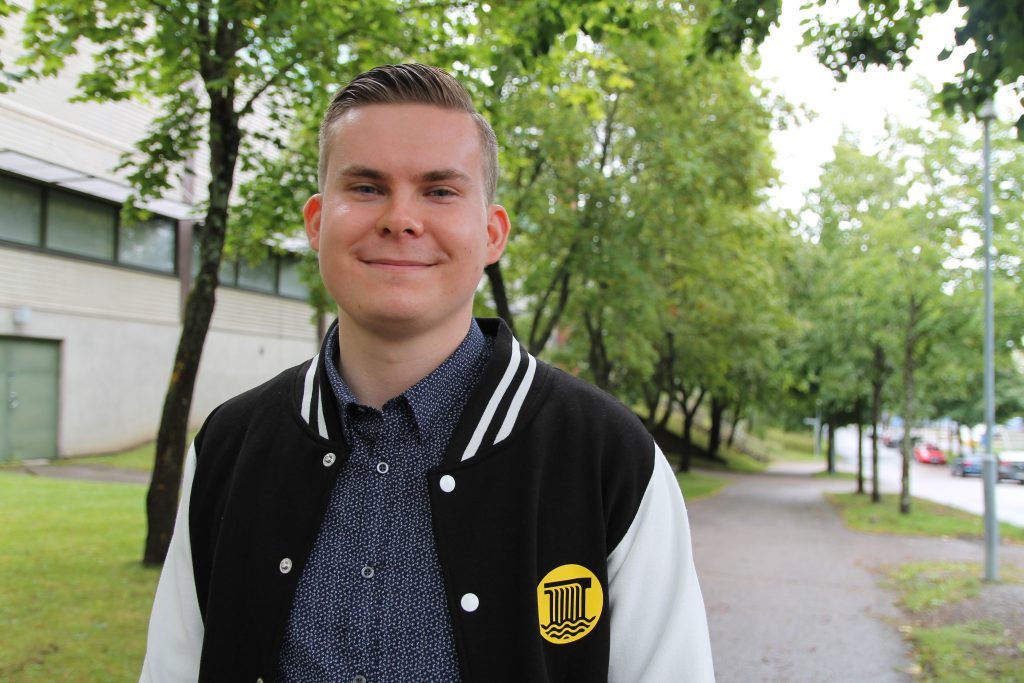 TREY's SYL candidate Tuomas Karvonen