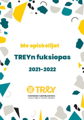 TREYn Fuksiopas 2021-2022, kansikuva