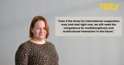 Specialist in International Affairs and Advocacy Anne Mäki-Rahkola
